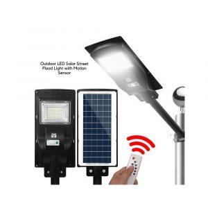 Outdoor LED Solar Street Flood Light with Motion Sensor
