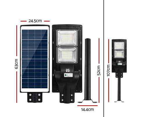 solar led flood light with remote control