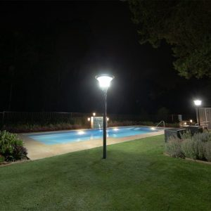 solar garden and pathway lighting